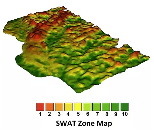 SWAT Map Example